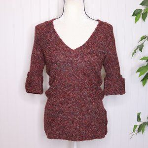 Maurices Confetti Knit V Neck Sweater